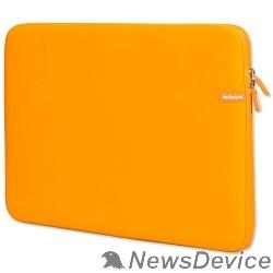 Сумка для ноутбука PORTCASE KNP-18OR Чехол для ноутбука  неопрен, оранжевый, 17-18,4''