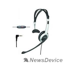 Телефон Panasonic RP/KX-TCA430PP-S / RP-TCA430E-S гарнитура, серебристая