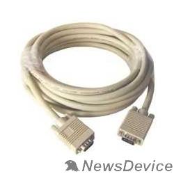 Кабель Gembird/Cablexpert CC-PVGA-10, Кабель VGA Pro , 3м, 15M/15M, экран, феррит. кольца