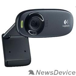 Цифровая камера 960-001065 Logitech HD Webcam C310, USB 2.0, 1280*720, 5Mpix foto, Mic, Black