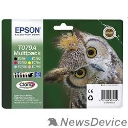 Расходные материалы EPSON C13T079A4A10 Epson набор картриджей для P50/PX660 (черный,пурпурный,голуб,желтый,светло-пурпур,светло-голуб) (cons ink)
