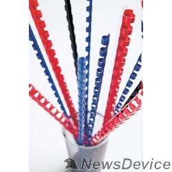Расходные материалы Fellowes Пружина пластиковая FS-53471 ((круглая), 16 мм, 100 шт, 21 кольцо, синие)