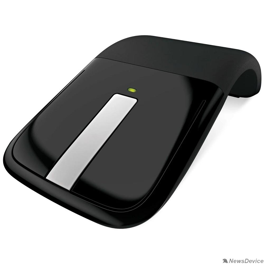Мышь Мышь Microsoft ARC Wireless Touch Mouse USB Black (RVF00056) RTL