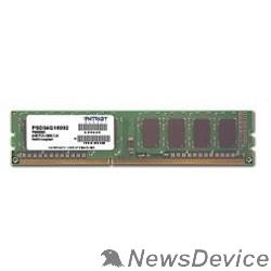 Модуль памяти Patriot DDR3 DIMM 4GB (PC3-12800) 1600MHz PSD34G160081