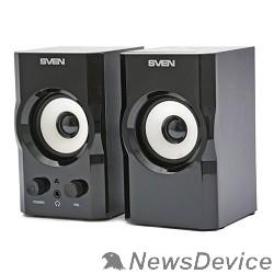 Колонки SVEN SPS-605, черный 2 х 3 Вт,100 - 18000 Гц, 220 В, 50 Гц