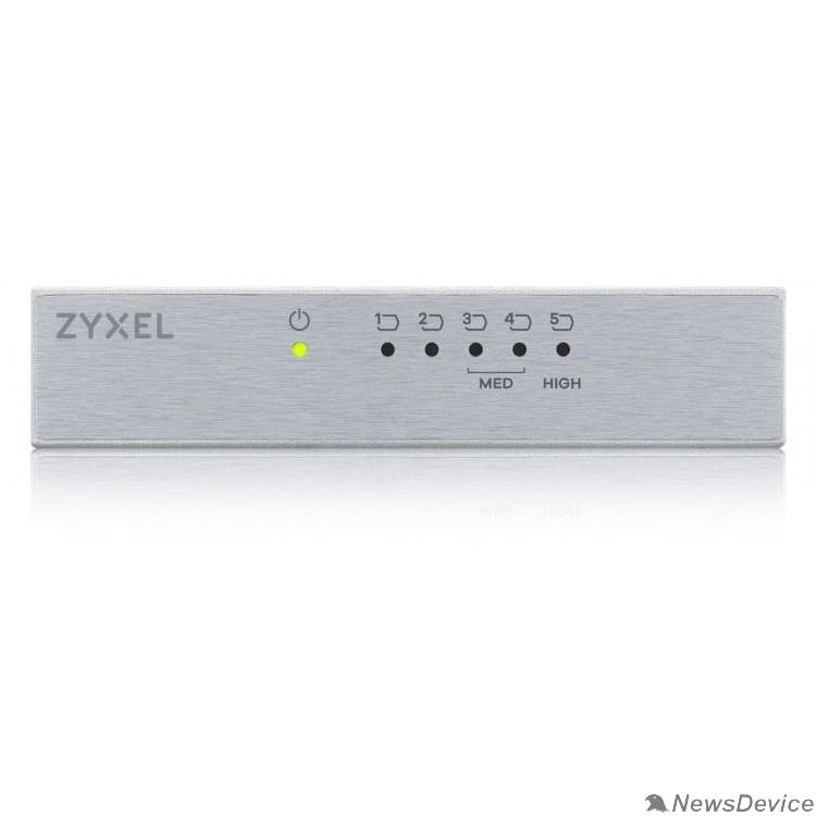 Сетевое оборудование ZYXEL GS-105BV3-EU0101F Коммутатор v3/v2, 5 портов 1000 Мбит/с, настольный, металлический корпус