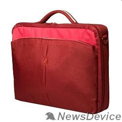 """Сумка для ноутбука Сумка Continent CC02 Cranberry нейлон до 15,6"""" - фото 519608"""