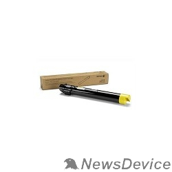 Расходные материалы XEROX 106R01445 Тонер-картридж  повыш.емкости для Phaser 7500 Yellow (17.8К)