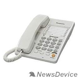 Телефон Panasonic KX-TS2363RUW (белый) однокноп.набор 20 ном., спикерфон, автодозвон