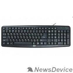 Клавиатура CBR KB 107 Black USB, Клавиатура 104 кл., офисн.