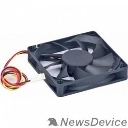 Вентилятор Gembird Вентилятор 60x60x25, втулка, 3pin, провод 25см D6025SM-3