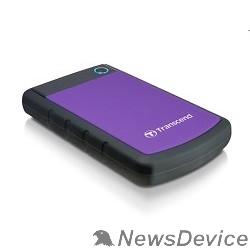 "Носитель информации Transcend Portable HDD 1Tb StoreJet TS1TSJ25H3P USB 3.0, 2.5"", violet"