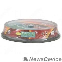 Диск VS Диски DVD+R  8.5Gb 8-х Double Layer, 10 шт, Cake Box Ink Print