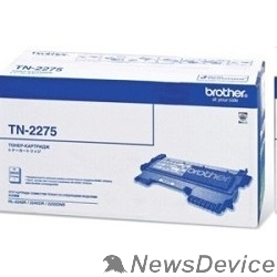 Расходные материалы Brother TN-2275 Картридж HL2240/2240D/2250DN, (2 600 стр.)(TN2275)