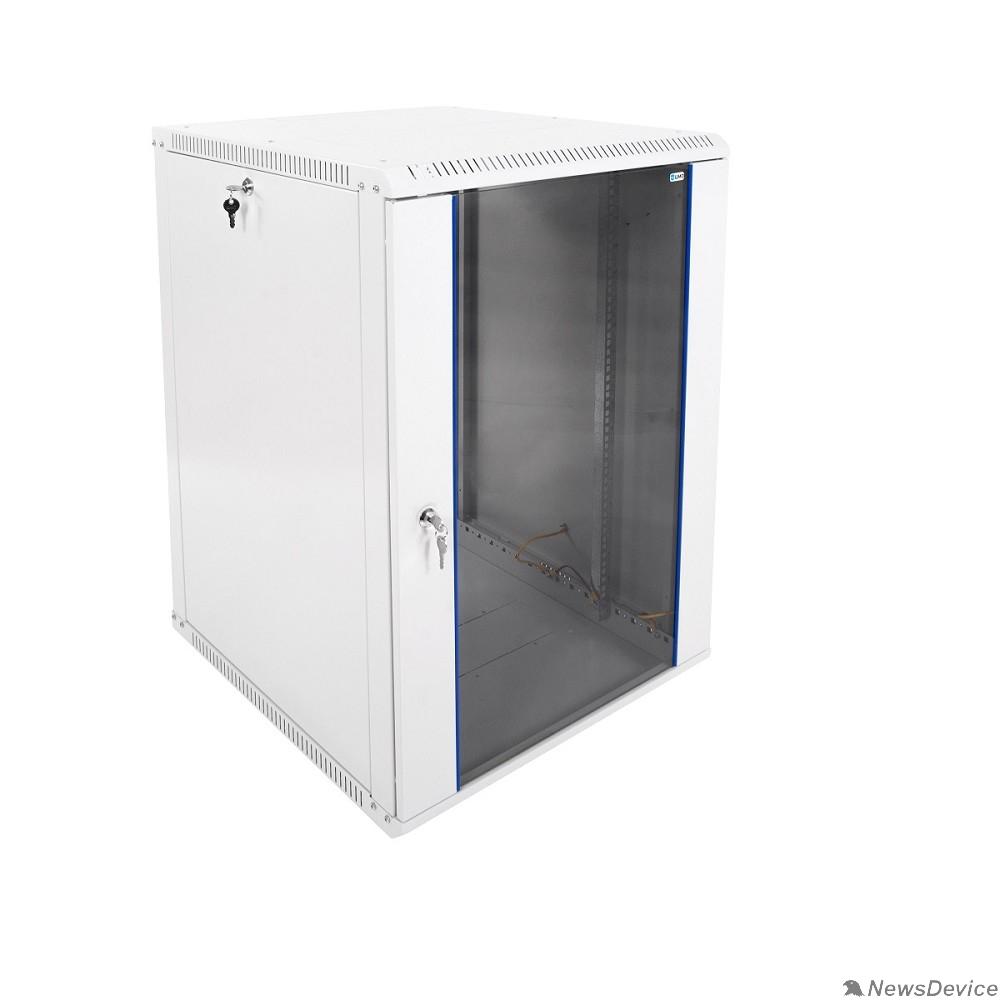 Монтажное оборудование ЦМО Шкаф телекоммуникационный настенный разборный 18U (600х650) дверь стекло (ШРН-Э-18.650) (1 коробка)