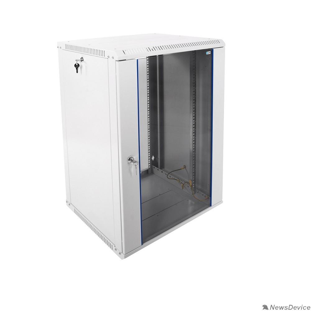 Монтажное оборудование ЦМО Шкаф телекоммуникационный настенный разборный 18U (600х520) дверь стекло (ШРН-Э-18.500) (1 коробка)