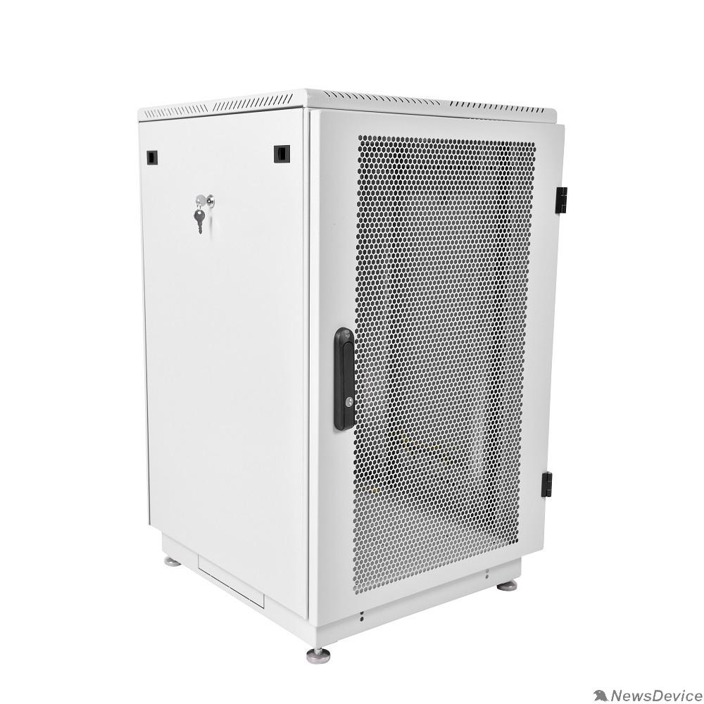 Монтажное оборудование ЦМО Шкаф телекоммуникационный напольный 18U (600x600) дверь перфорированная (ШТК-М-18.6.6-4ААА) (2 коробки)
