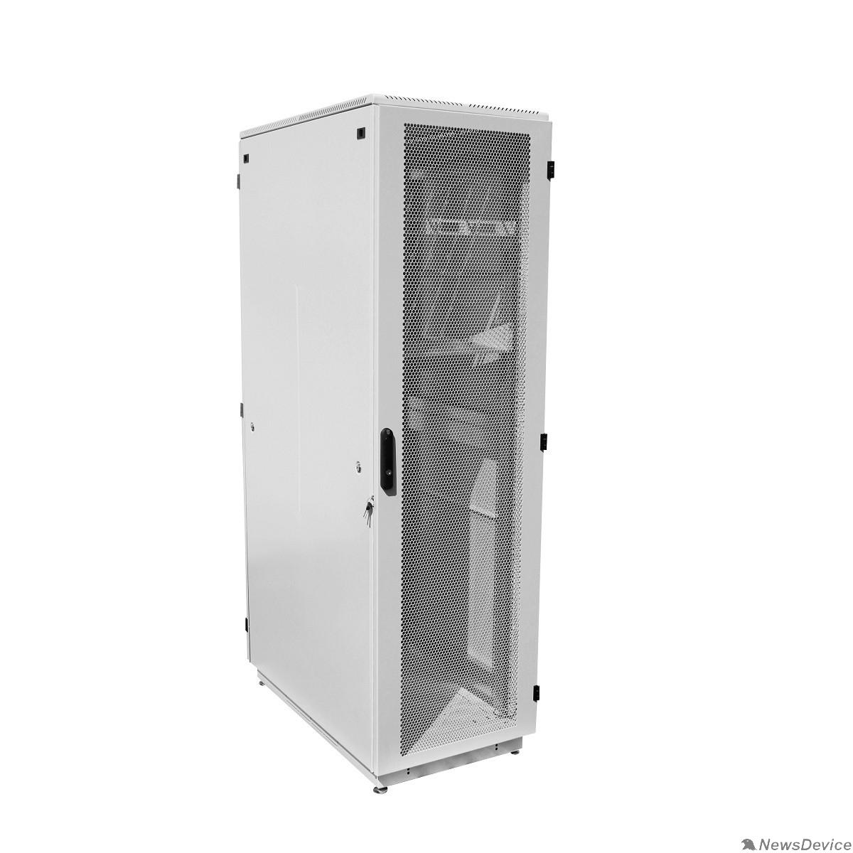 Монтажное оборудование ЦМО Шкаф телекоммуникационный напольный 38U (600x800) дверь перфорированная (ШТК-М-38.6.8-4ААА) (3 коробки)