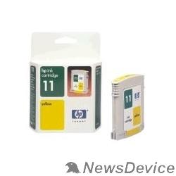 Расходные материалы HP C4838AE Картридж №11, yellow IJ 2200/2250/2230/2280/2600, Yellow (28ml) - фото 523084