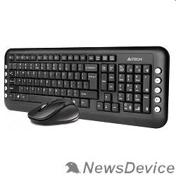 Клавиатура A-4Tech Клавиатура + мышь 7200N 2.4G  X-Far Wireless V-Track Desktop  USB ,черный 613834