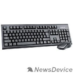 Клавиатура A-4Tech Клавиатура + мышь 3100N 2.4G X-Far Wireless V-Track Desktop USB ,черный 613832