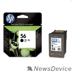Расходные материалы HP C6656AE Картридж №56, Black DJ 5550/5150/5652/7150/7350/7550/7260/2110/2210/oj 6110, Black (19ml)
