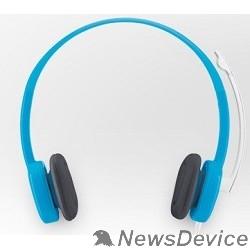 Наушники Logitech Stereo Headset (Borg) H150 981-000368 Blue
