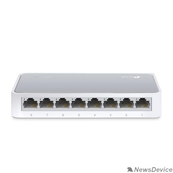 Сетевое оборудование TP-Link TL-SF1008D 8-портовый 10/100 Мбит/с настольный коммутатор SMB