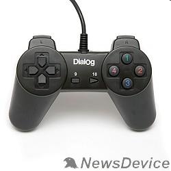 Геймпад Dialog Action GP-A01, черный Геймпад, 10 кнопок, USB