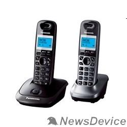 Телефон Panasonic KX-TG2512RU2 Доп трубка в комплекте, АОН, Caller ID, спикерфон, полифония