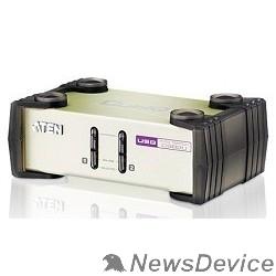 Переключатель ATEN CS82U(-AT) 2-х портовый настольный PS/2-USB-KVM-переключатель