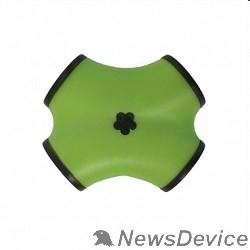 Контроллер CBR CH-100 Green, USB-концентратор  4 порта, USB 2.0