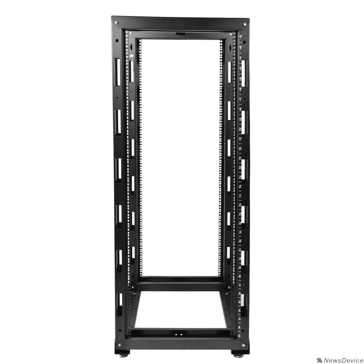 Монтажное оборудование ЦМО Стойка телекоммуникационная универсальная 38U двухрамная,цвет черный (СТК-38.2-9005) (1коробка)