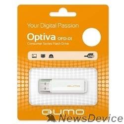 Носитель информации USB 2.0 QUMO 16GB Optiva 01 White QM16GUD-OP1-white