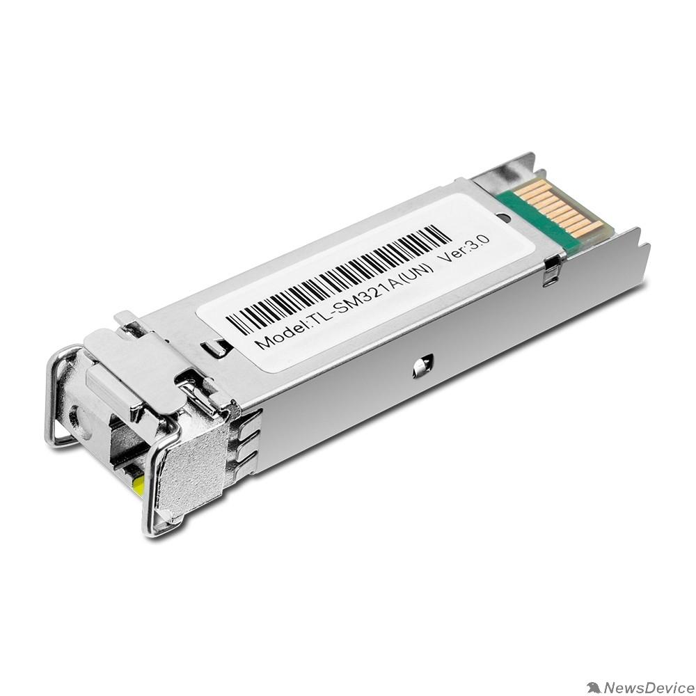 Сетевое оборудование TP-Link TL-SM321A 1000Base-BX WDM двунаправленный SFP модуль 20км
