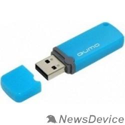 Носитель информации USB 2.0 QUMO 8GB Optiva 02 Blue QM8GUD-OP2-blue