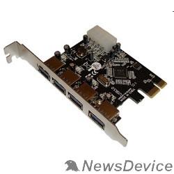 Контроллер ORIENT VA-3U4PE RTL PCI Express card USB 3.0 4 порта