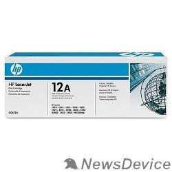 Расходные материалы HP Q2612AF/Q2612AD Картридж ,BlackLaserJet 1010/1012/1015/1020/1022/3015/3020/3030, Black, 2-pack, (2000 стр.)