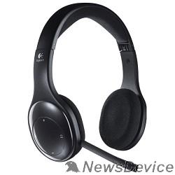 Наушники Logitech Wireless Headset H800 USB черные