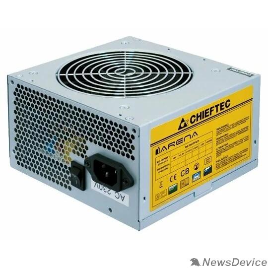 Блок питания Chieftec 500W OEM GPA-500S8 ATX-12V V.2.3 PSU with 12 cm fan, Active PFC, ficiency >80% 230V only