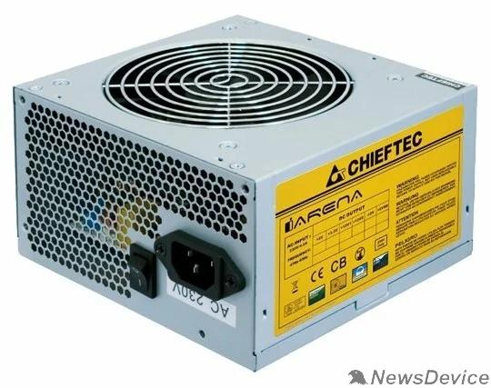 Блок питания Chieftec 450W OEM GPA-450S8 ATX-12V V.2.3 PSU with 12 cm fan, Active PFC, ficiency >80% 230V only