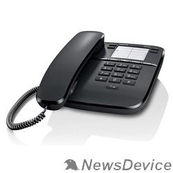 Телефон Gigaset DA310 (IM) Black. Телефон проводной (черный)
