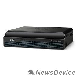 Сетевое оборудование CISCO1941/K9 Cisco 1941 IOS UNIVERSAL – NPE w/2 GE,2 EHWIC slots,256MB CF,512MB DRAM,IP Base