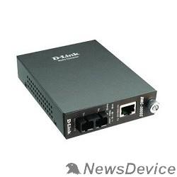 Сетевое оборудование D-Link DMC-300SC/D8A Медиаконвертер с 1 портом 10/100Base-TX и 1 портом 100Base-FX с разъемом SC для многомодового оптического кабеля (до 2 км)