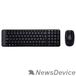 Клавиатура 920-003169 Logitech Клавиатура + мышь Wireless Combo MK220 Black USB
