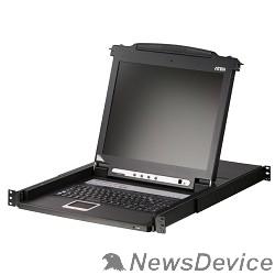 Переключатель ATEN CL1008MR(G)/CL1008M переключатель SLIDEAWAY 8P 17INCH LCDKVM SWITCH