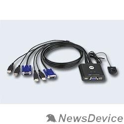 Переключатель ATEN CS22U-(A7) переключатель 2 PORT USB KVM SWITCH