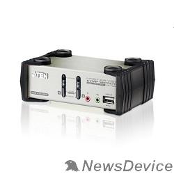 Переключатель ATEN CS1732B((F)-A7-G) переключатель 2 Port USB2.0 KVMP Switch with OSD