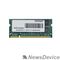 Модуль памяти Patriot DDR2 SODIMM 2GB PSD22G8002S PC2-6400, 800MHz