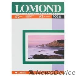 Бумага LOMOND 0102012  Матовая бумага 2х A3, 170г/м2 100 листов